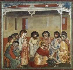 Giotto: Christ Washing the Disciples' Feet
