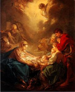 François Boucher: Adoration of the Shepherds