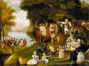 Edward Hicks: The Peaceable Kingdom