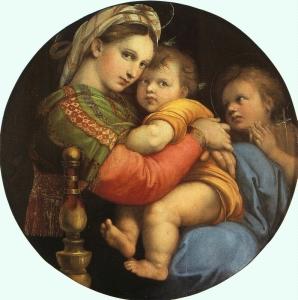 Raphael: Madonna della Sedia