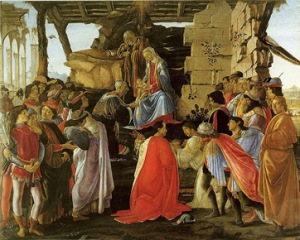 Sandro Botticelli: The Adoration of the Magi