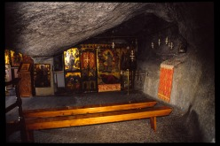 The Cave of St. John on the Island of Patmos