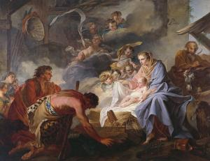 Jean Baptiste Marie Pierre: The Adoration of the Shepherds