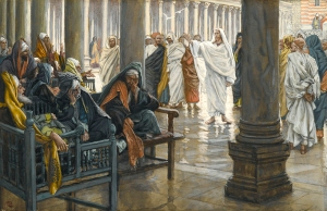 James Tissot: Woe Unto You, Scibes and Pharisees