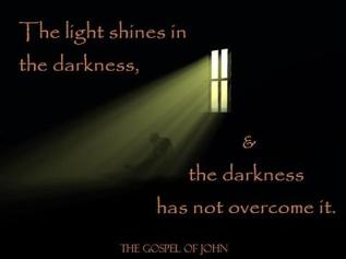 light overcomes the dark