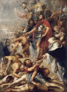 Peter Paul Rubens and workshop: The Triumph of Judas Macccabee